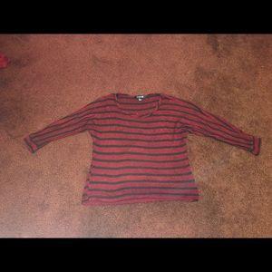 Women's half sleeve sweater